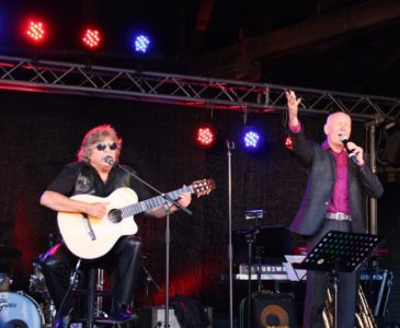 Arno Raunig and Jose Feliciano