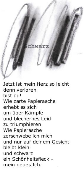 Schwarz Gedichte Arno Raunig