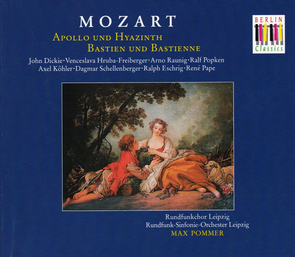 W.A.Mozart – Apollo und Hyazinth
