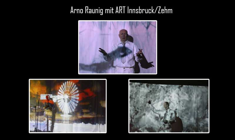 Arno Raunig mit ART Innsbruck/Zehm