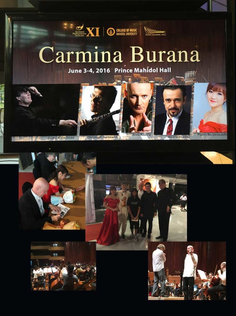 Exclusive photos from concert Carmina Burana