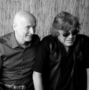 Arno Raunig and Jose Feliciano  backstage