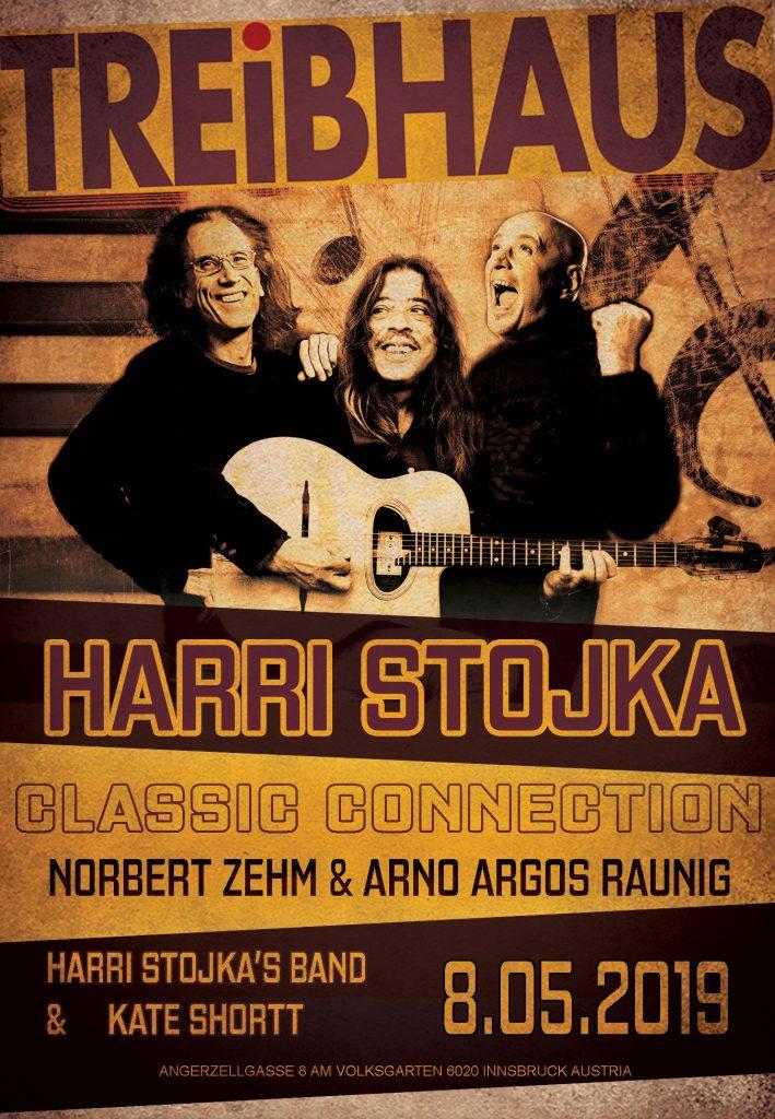 Harri Stojka Norbert Zehm Arno Argos Raunig